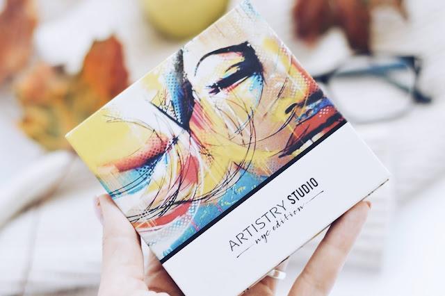 Amway kaasaskantav palett ARTISTRY STUDIO NYC kollektsioon - Midtown Medium