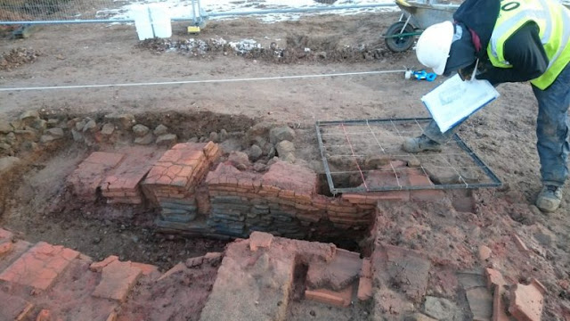 Roman Villa excavated in Warwick