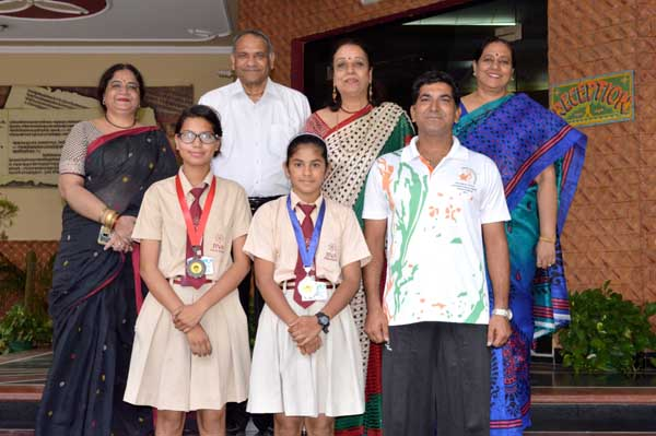 जीवा की छात्राओं ने खेल महाकुंभ में तीरंदाज़ी में राज्यस्तरीय परचम लहराया