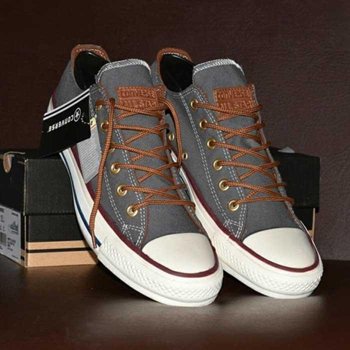 Sepatu Converse All Star Premium Abu-Abu [CL-004