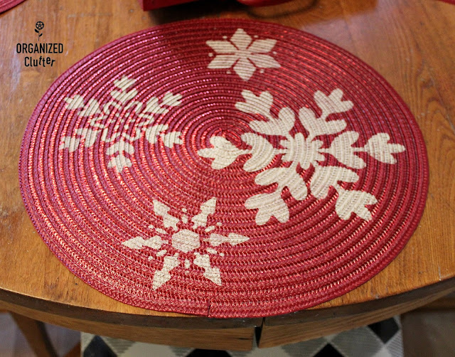 Easy Last Minute Christmas Stenciling Projects