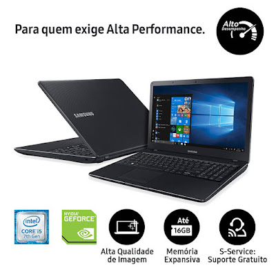 Notebook Samsung X23 Intel Core i5 7200U