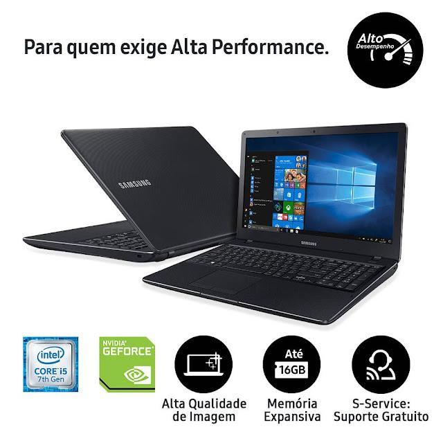 Notebook Samsung X23 Intel Core i5 7200U