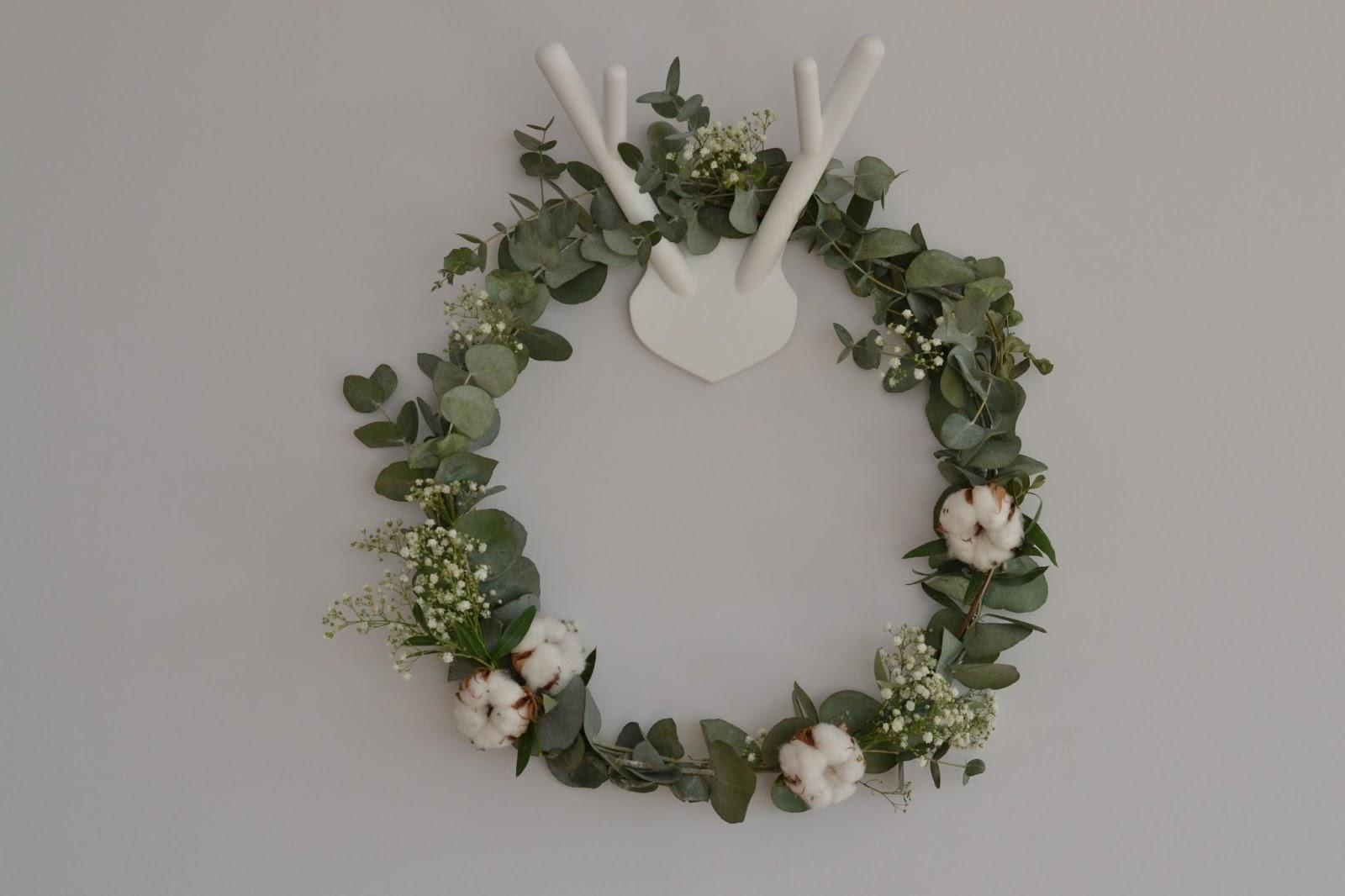 Christmas wreath corona de navidad sofia parapluie - Como hacer coronas de navidad ...