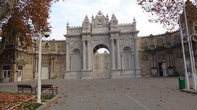 Entrada do Palácio Dolmabahçe