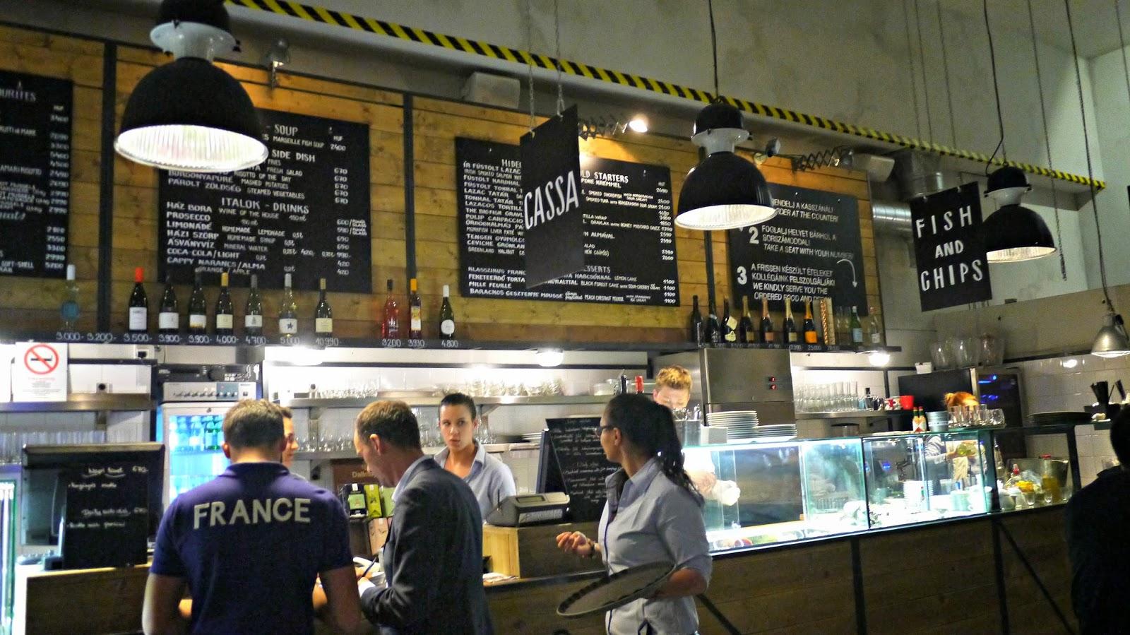 Bigfish seafood restaurant budapest hungary