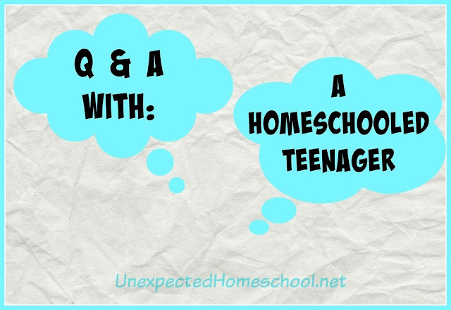 Unexpected Homeschool: An Interview with a Homeschooled Teenager