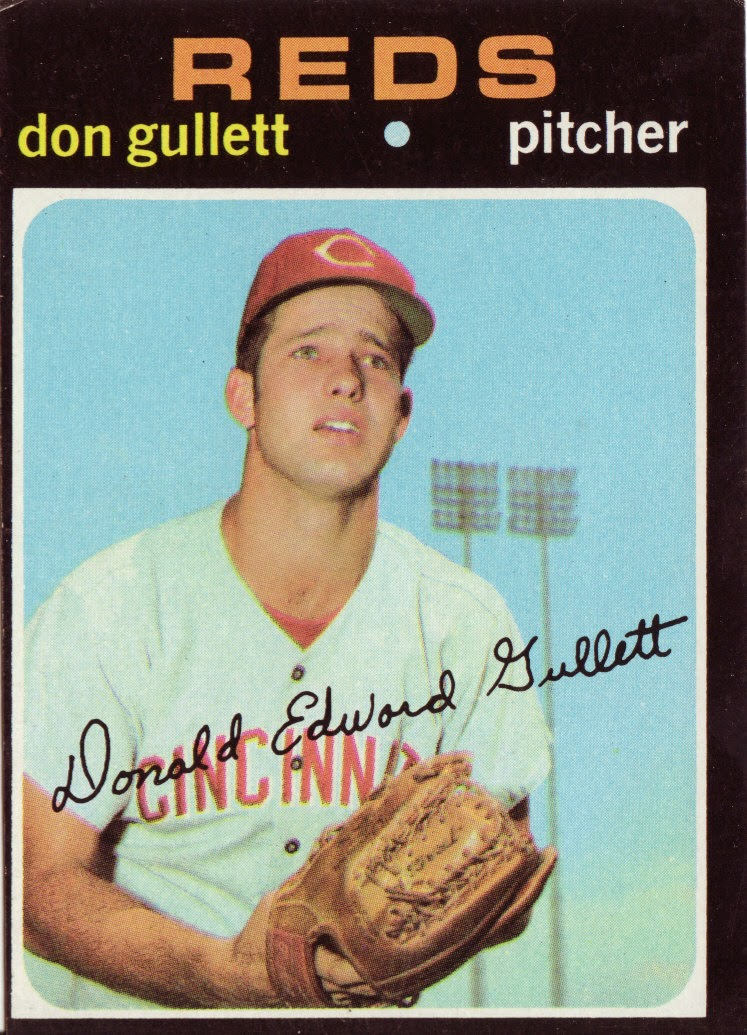 Really Bad Baseball Cards Whats Eating Don Gullett