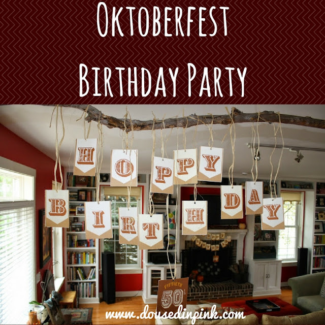 Oktoberfest Birthday Party - Doused In Pink