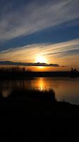 fishing dusk