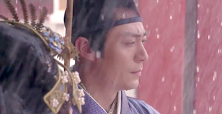 Wallace Huo in Imperial Doctress, a Chinese palace drama