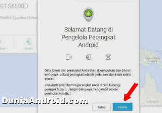 fitur aplikasi android device manager
