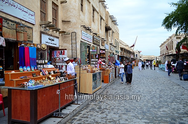 Souvenirs at Souq Waqif