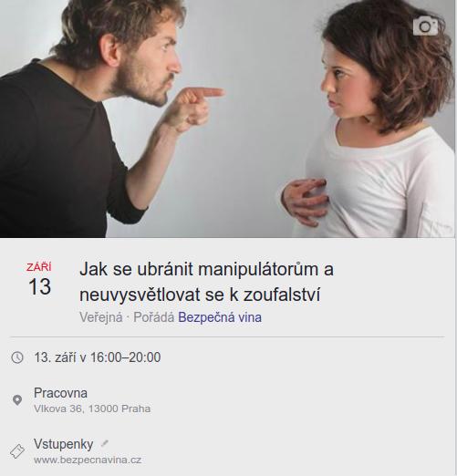 Seminář 13.9.2018 v Praze