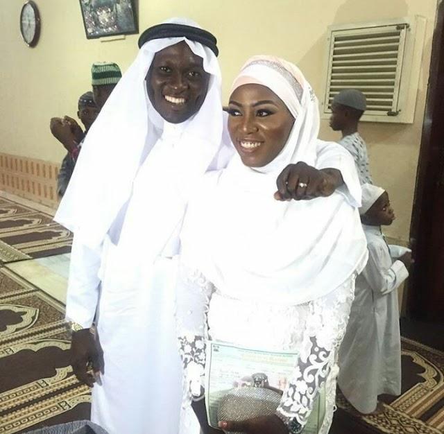 Lagos state Deputy Police PRO, Aliyu Giwa weds Afinnih Oyin