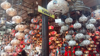 Turkey Lamp Shades at Surajkund Crafts Fair