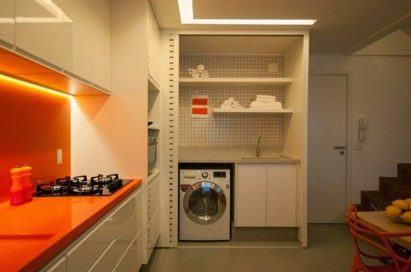 decoração-laranja-cozinha