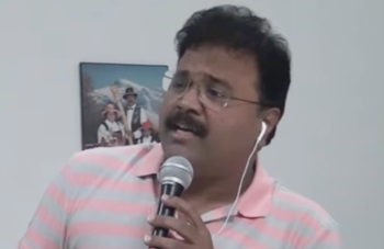 Thakita Thathumi Salangai Oli song Cover Ganesh