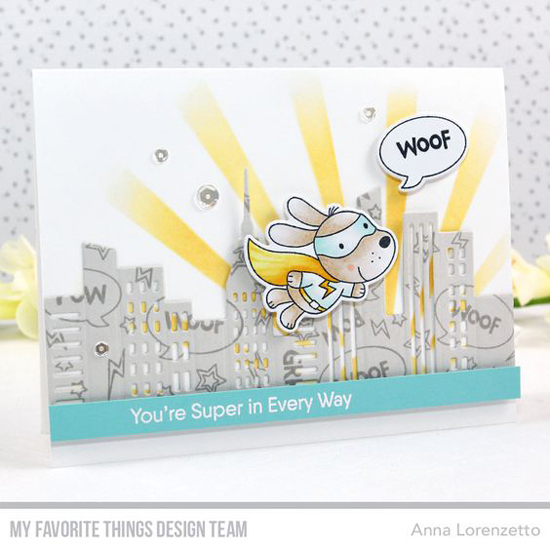 Handmade card by Anna Lorenzetto featuring products from My Favorite Things #mftstamps