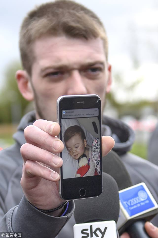 Terminally-ill 23-month-old toddler Alfie Evans from Britain dies