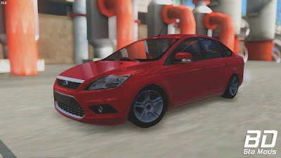 Mod Carro Ford Focus sedan para GTA San Andreas, GTA SA