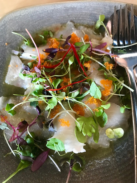 Bang Bang, Elsternwick. king fish sashimi