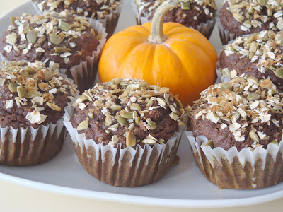 Spiced Pumpkin Molasses Muffins {Alida's Kitchen}