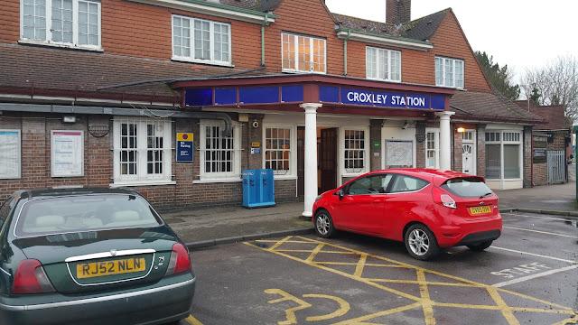 Croxley Metropolitan Station