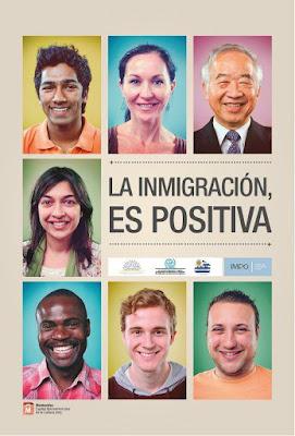La inmigración es positiva