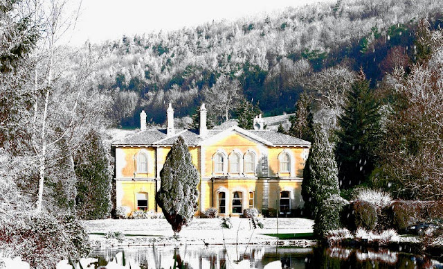 The Hackness Grange Country House in Scarborough is dressed beautifully by the winter. Photo: Hotels Collection.