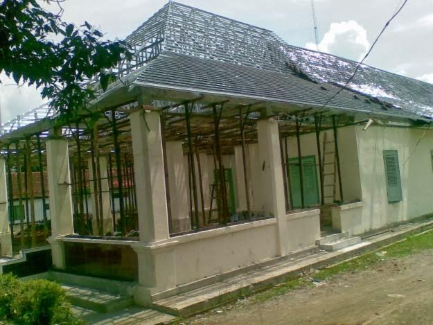 Joglo Dari Baja Ringan Atap Rumah Sigit Kanopi
