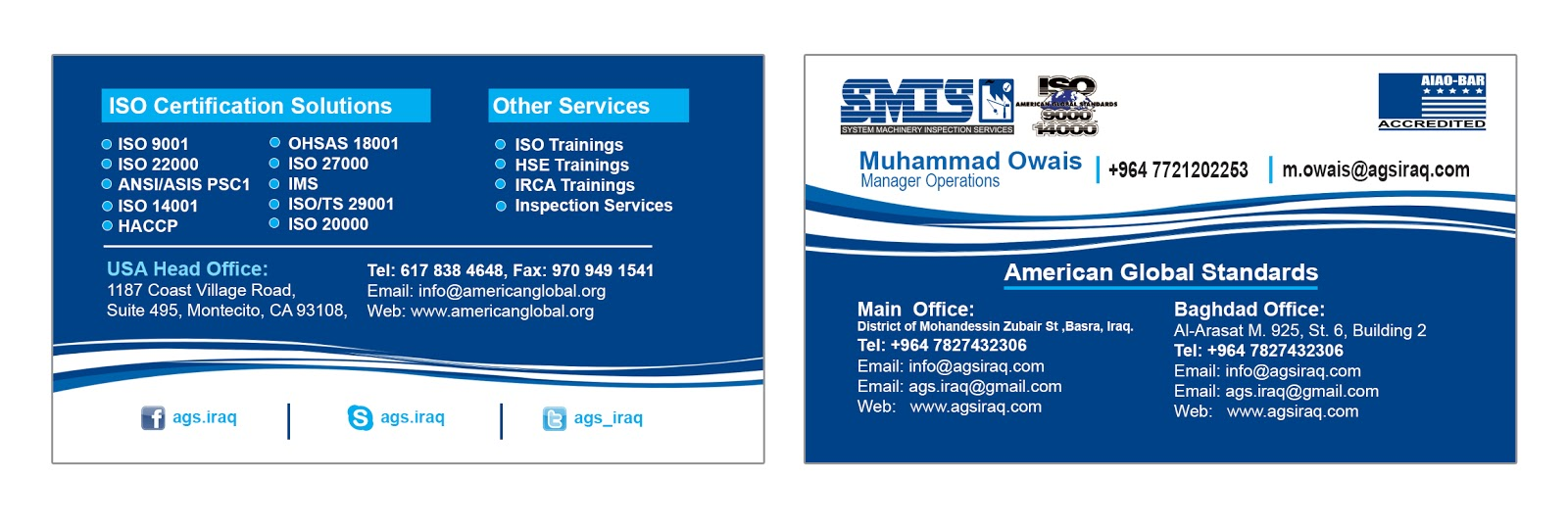 Now Get Iso Certifications In Baghdad