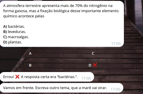 Telegram Enem