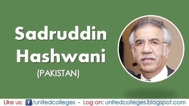 Sadruddin Hashwani (Pakistan)