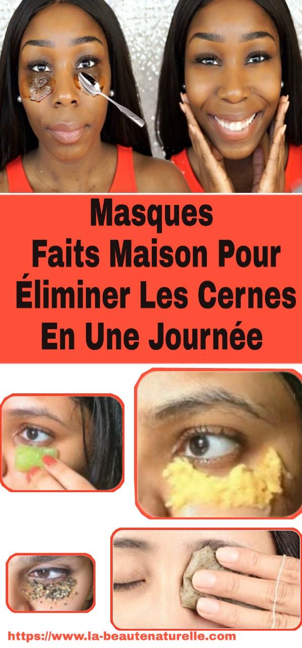 Masques Faits Maison Pour Éliminer Les Cernes En Une Journée