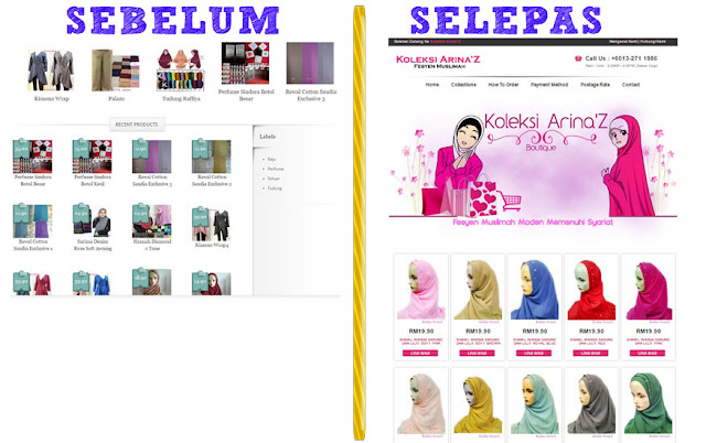 Make Over Blog Koleksi Arina'z