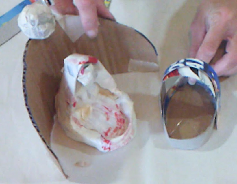 Whimsy Paper Mache.com: How to Make a Simple Nativity Scene for ...