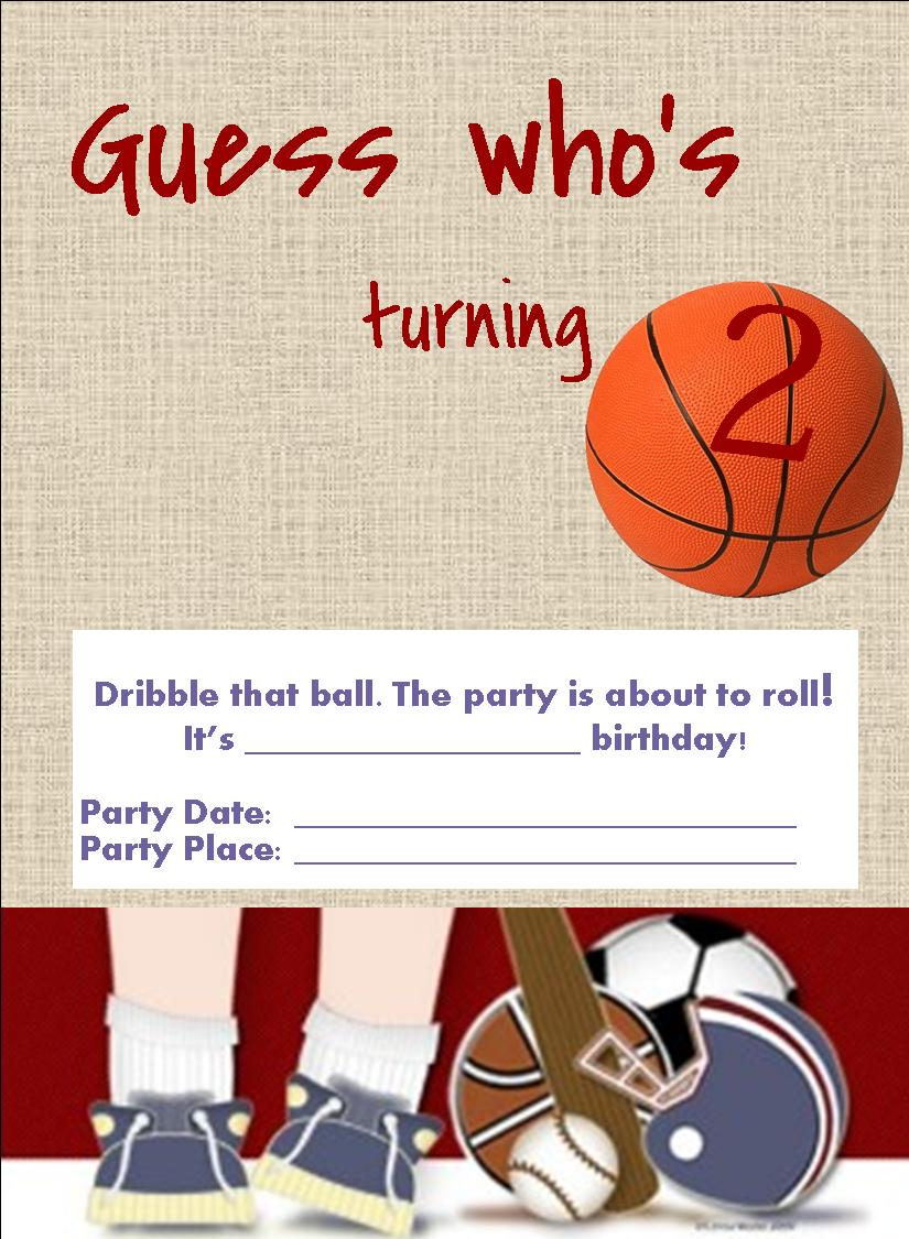 downloadable birthday party invites new designs