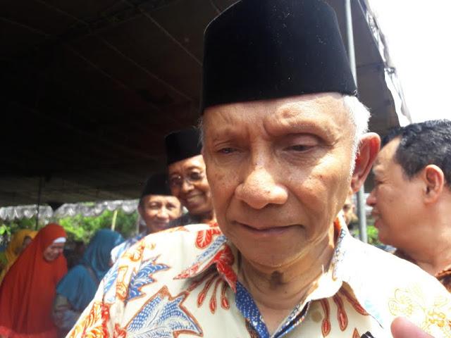 Amien Rais: Jika Ahok Bebas, Jokowi Finish!