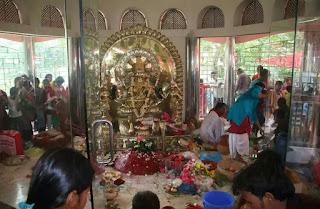 আগৈলঝাড়ায় কবি বিজয় গুপ্ত'র প্রতিষ্ঠিত ৫শ ২৪ বছরের পুরোনো মনসা মন্দিরে বাৎসরিক পূজা অনুষ্ঠিত