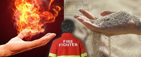 Teknologi Bersifat Pasir Bagi Pemadam Kebakaran, Sebuah Kemustahilan_iskrim_com_