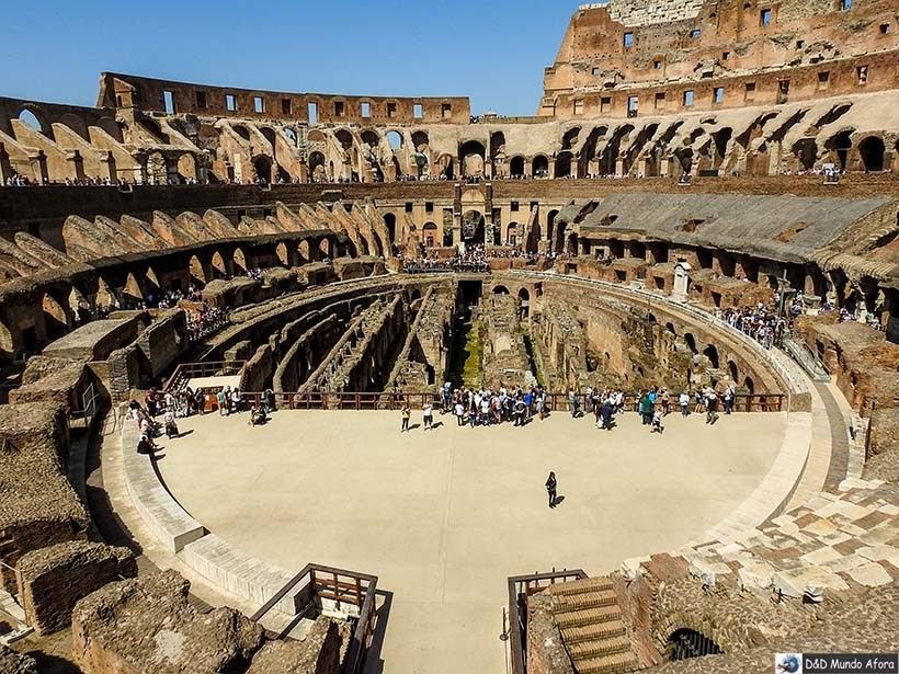 Coliseu  - O que fazer em Roma, Itália