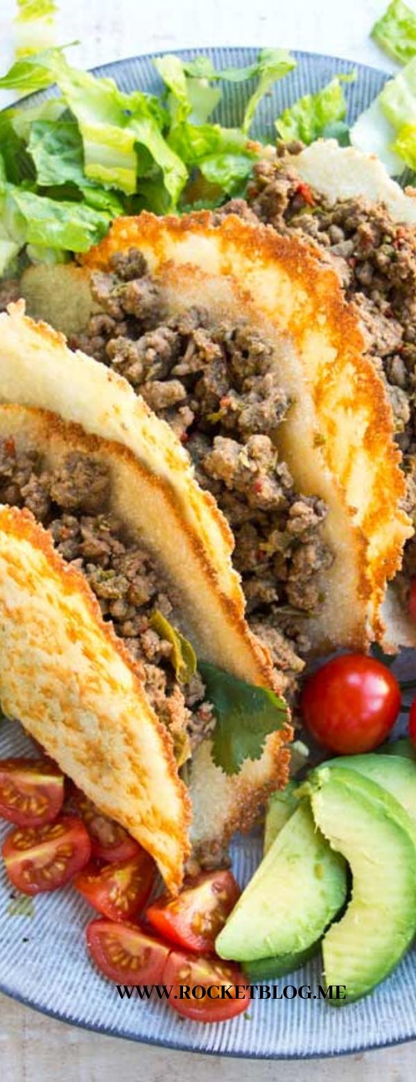 Crispy Keto Taco Shells #KETO #TACO #KETORECIPES