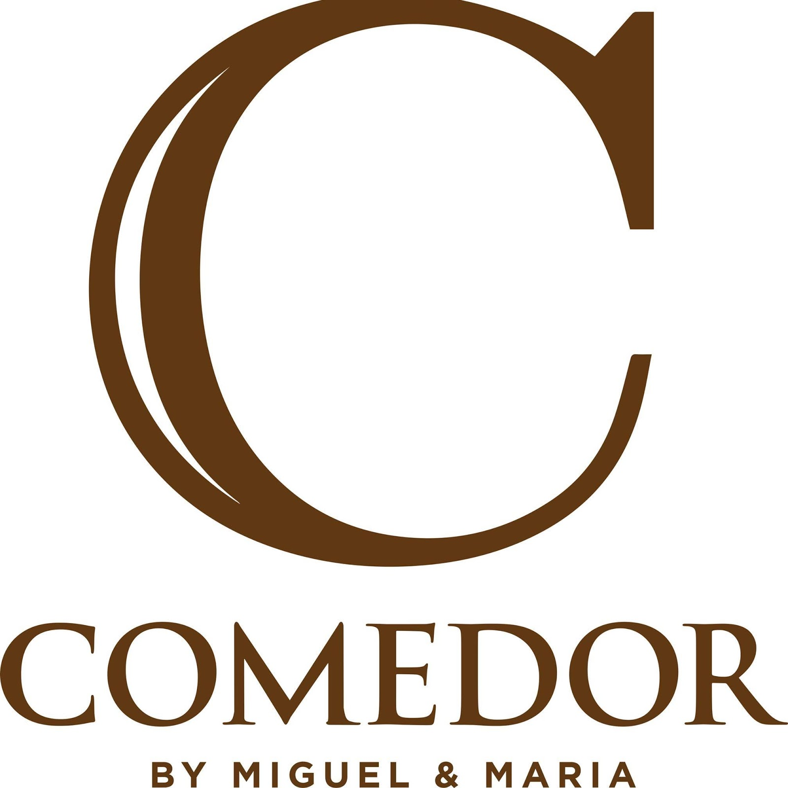 Comedor by miguel maria sizzling kare kare bacon for Comedor logo