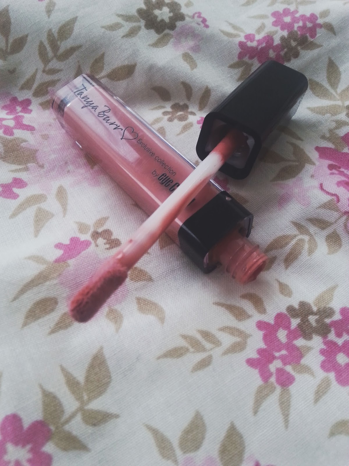Tanya Burr Lipgloss in Afternoon Tea