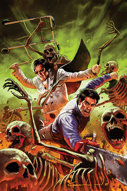 Army of Darkness/Bubba Ho-Tep: variant cover #2