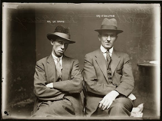 A Dose of Vintage Eye-Candy ::: 1920's Mugshots