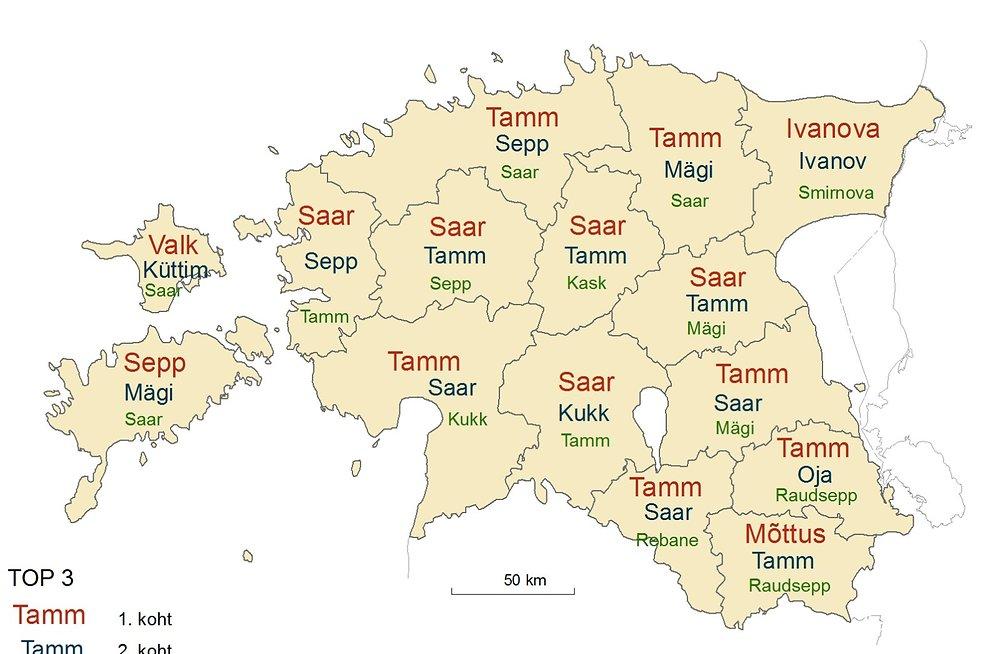 Estonian Surnames