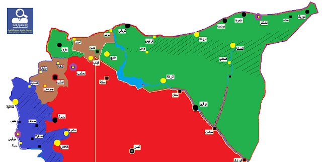 """التقرير الإستراتيجي الدوري حول فيدرالية شمال سوريا """" روجآفا """""""