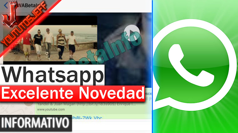 Excelente Novedad de Whatsapp